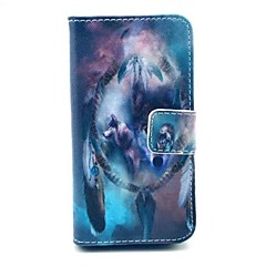The Wolf Pattern Full Body Case with Stand for iPhone 4/4S