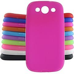 jelly siliconen case voor Samsung Galaxy S3 i9300