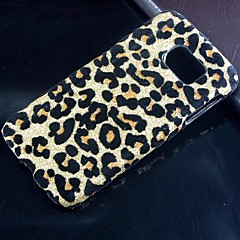 For Samsung Galaxy etui Andet Etui Bagcover Etui Leopardmønster PC for Samsung S6