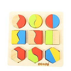 benho Brich tre kryssfiner form sorter bord-ⅱ utdanning baby leketøy