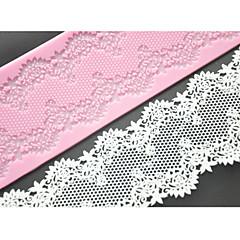 quatre c fournitures tapis de dentelle gâteau en silicone moule à cake de décoration, la couleur des outils de gâteau en silicone mat