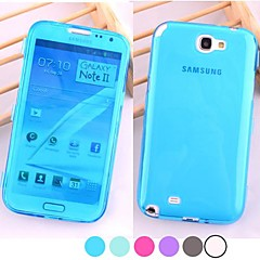 BIG D Touch View TPU Full Body Case for Samsung Galaxy Note 2 N7100(Assorted Colors)
