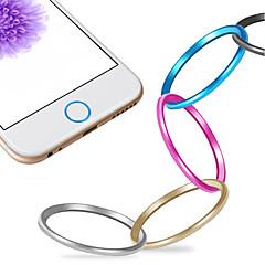 kiváló minőségű fém home gomb burkolat gyűrű védő kört iphone 06/06 plus / 5mp / iPad levegő 2 / iPad mini