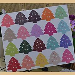 multifunctionele kerst stijl bakken afdichten decoratieve diy stickers (20stickers / pcs)