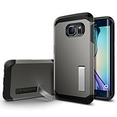 sală de sport 2 în 1 bondar spate caz pentru Samsung Galaxy S6 margine g9250 (culori asortate)