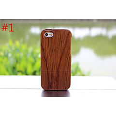 πραγματικό φυσικό ξύλο μπαμπού ξύλινο κάλυμμα σκληρό υπόθεση για Apple iPhone 5γ