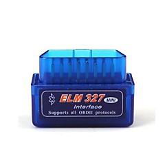 ELM327 nyeste versjon v2.1 bluetooth super mini ELM327 OBD2 ii scan verktøy bil auto diagnostisk verktøy for vinduer blå