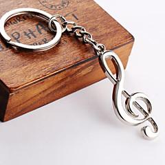 hudební notace přívěšek na klíče
