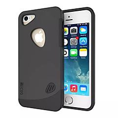 choque de dupla camada de absorção da tampa do caso para o iphone 5 / 5s (cores sortidas)