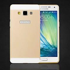 Specjalna konstrukcja jednolity kolor metalu tylną pokrywę i zderzak do Samsung Galaxy a5