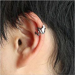 Ear Cuffs Alloy Punk Fashion Silver Golden Jewelry Party Daily 1pc
