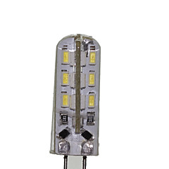 G4 GZ4 MR11 MR16 2W 24x3014SMD 180LM Warm White Cool White Waterproof LED Corn Bulbs AC/DC12-16V AC220-240V