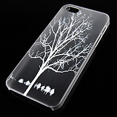 Crotch Pattern Transparent Back Case for iPhone5/5s