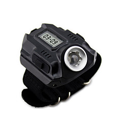 Wrist Type Light LED Flashlight  USB Charging  Time display   WL1001