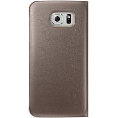 iso d laadukas koko kehon flip kotelo Samsung Galaxy S6 reuna g9250 (valikoituja värejä)