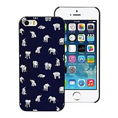 ihana pieni elefantti suunnittelu pc kova kotelo iPhone 4 / 4s