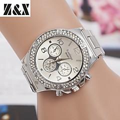 Women's Fashion Diamond Quartz Analog Steel Belt Bracelet Watch(Assorted Colors)