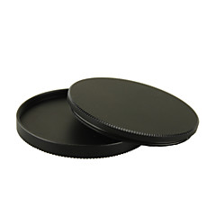 67mm Metal Screw-in Lens Box Filter Stack Strorage Case For Camera Lenses
