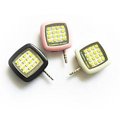 smartphone condus bliț-lumina de umplere de noapte, folosind Selfie consolidarea lumină intermitentă pentru iPhone / iPad / Android /