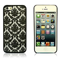 iPhone 5/아이폰 5S - 뒷면 커버/그외 - 단색/스페셜 디자인/노블티/메쉬 ( 블랙/화이트/그린/퍼플/로즈/멀티 색상 , 플라스틱 )