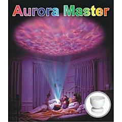 0.25W kleurrijke kleur projectie lamp met een geluid USB LED nachtlampje