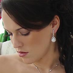 Big Rhinestones Rhinestones Vintage Dangle Brides Bridesmaids Wedding Party Earring