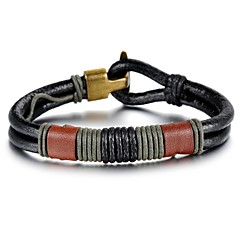 Personality Leather Men's Bracelet Christmas Gifts