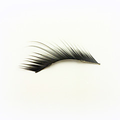 1 Pairs Black High-class Fiber False Eyelashes