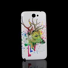 Deer Animal Pattern Cover  fo Samsung Galaxy Note 2 N7100 Case