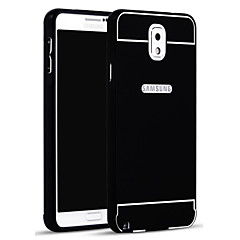 For Samsung Galaxy Note Andet Etui Bagcover Etui Helfarve Akryl for Samsung Note 3