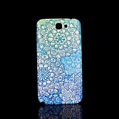 Pokrywa wzór fo kwiat Samsung Galaxy Note 2 n7100 przypadku