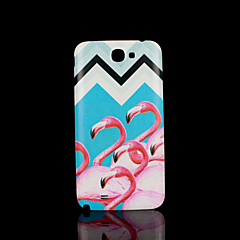 Flamingo Animal Pattern Cover  fo Samsung Galaxy Note 2 N7100 Case