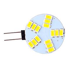 5W G4 Luminárias de LED  Duplo-Pin 15 SMD 5730 350 lm Branco Quente / Branco Frio AC 12 V 1 pç