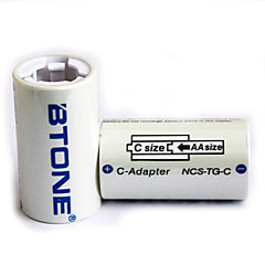 BTONE 1 X AAA to Type-C Battery Adapter Converters for Type-C Battery  (2 PCS)