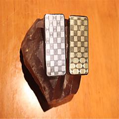 boutique usb latex grattable ultra-mince rechargeable argent briquet en or