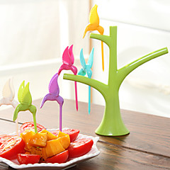 Bird Design Toothpick Set