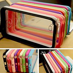 iso d värikäs silikageeliä akryyli Samsung Galaxy Note 2 n7100 (valikoituja värejä)