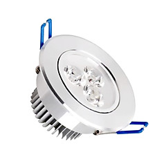 1 stk. MORSEN 3 W 3 SMD 2835 300-350 LM Varm hvid/Kold hvid Nedfaldende retropasform Justérbar lysstyrke Loftslys AC 110-130 V