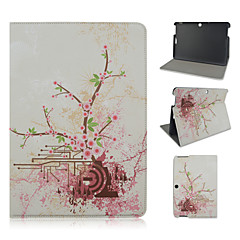 10.1 Inch Floral Pattern PU Leather Stand Case for Asus MeMO Pad 10-ME103K