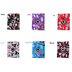 2015 New  360Rotate Flower Hard Back Case for ipad 2/3/4
