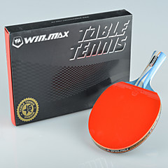 Winmax® 1 Pcs 5 Star Long Handle Table Tennis Racket with A Color Packing Box