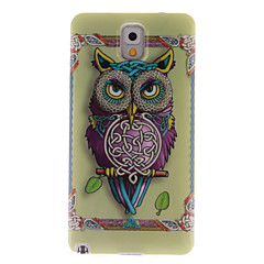 For Samsung Galaxy Note IMD Etui Bagcover Etui Ugle TPU for Samsung Note 3