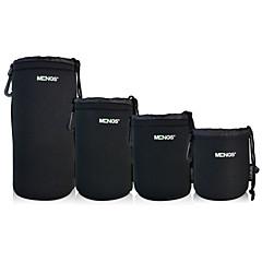 mengs® 1 Päckchen alle 4 Größen (SML XL) Objektivbeutel für Canon / Nikon / Olympus / Panasonic / Pentax / Samsung / Sony usw.