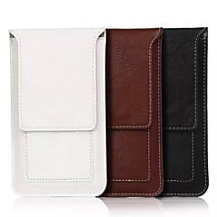 sólido pu saco bolsos materiais multifuncionais comum para Samsung Galaxy S6 s6edge S5 a5 (cores sortidas)