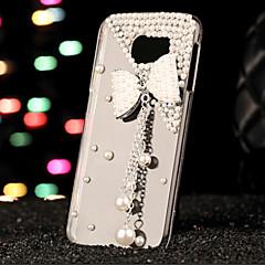 Mert Samsung Galaxy tok Strassz Case Hátlap Case 3D rajz PC Samsung S7 edge / S7 / S6 edge plus / S6 edge / S6 / S5 / S4 / S3