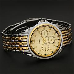 reloj de cuarzo correa de acero de alta calidad nueva del hombre