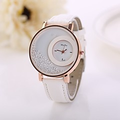 Women's Watch Lady Dress Watches Gold Plated Watches For Women Clock Female Leather Cool Watches Unique Watches Fashion Watch