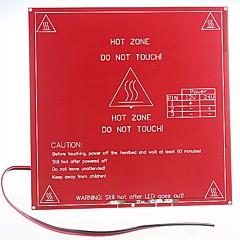RepRap 3d printer met dual-voltage circuit board wordt verwarmd bed mk2b, ondersteuning 12v, 24v