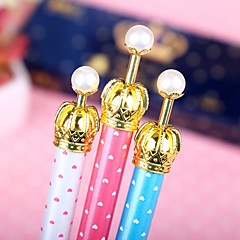 Imperial Crown Style Gel Pen (Random Color)