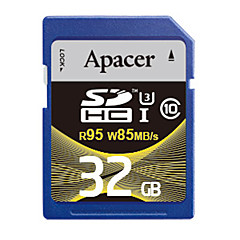 Apacer 32 GB SD-kártya Memóriakártya UHS-I U3 Class10